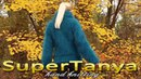 28 11 2012 Hand knitted petrol fuzzy mohair sweater by SuperTanya