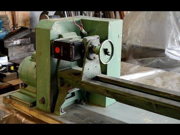 Wood lathe restoration/renovation