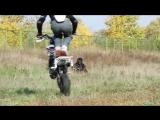 Трюки на питбайке от Александра Андреева (Pit bike stunts)