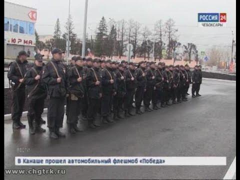 Отряд полицейских из Чувашии отправился в командировку на Северный Кавказ