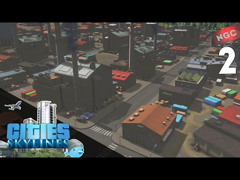 Cities Skylines S1E2 Жилые и промышленные зоны