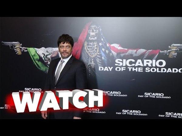 Sicario Day of the Soldado at CinemaCon Featurette with Benicio Del Toro