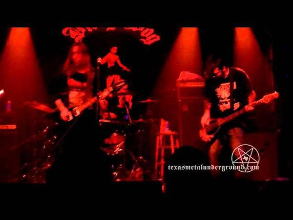 DIVINE EVE Velvet Of The Godless live at Dirty Dog Bar in Austin Texas November 26 2011