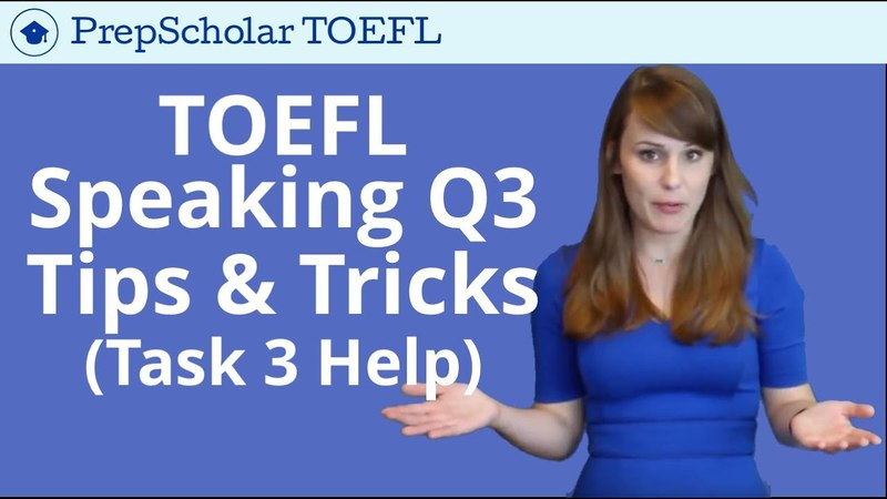 NEW Tips and Tricks for TOEFL Speaking Question 3 | Integrated Task 3