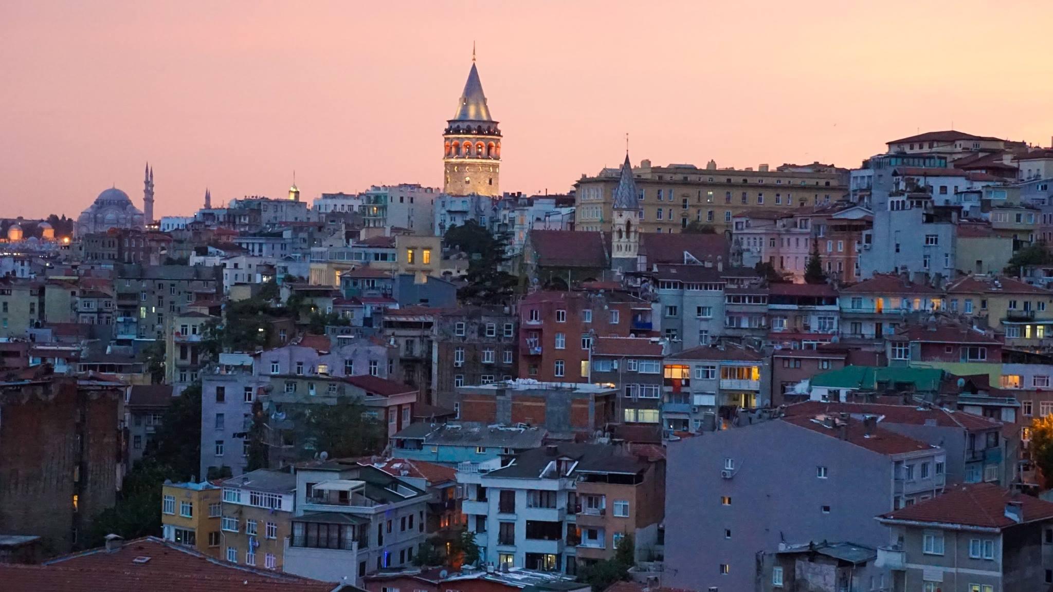 Панорамный вид на историческую часть Варны