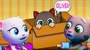 Oliver кот виртуальный питомец, игра как тамагочи, много веселых мини игр!