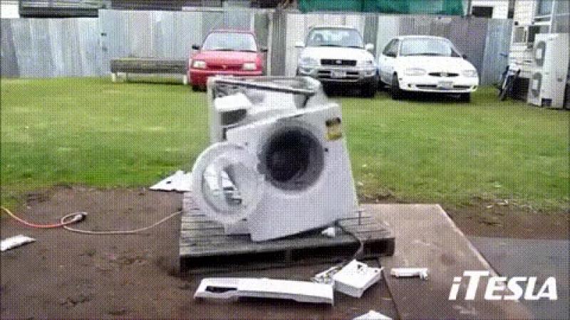 Прикол с стиральной машиной
