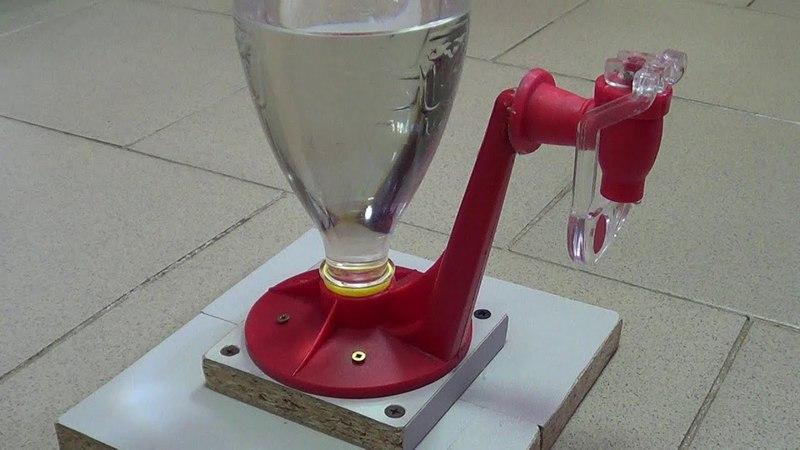 Лень двигатель прогресса или как переделать дозатор воды для детей