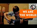 We are the world (USA for Africa) - fingerstyle guitar (+урок)