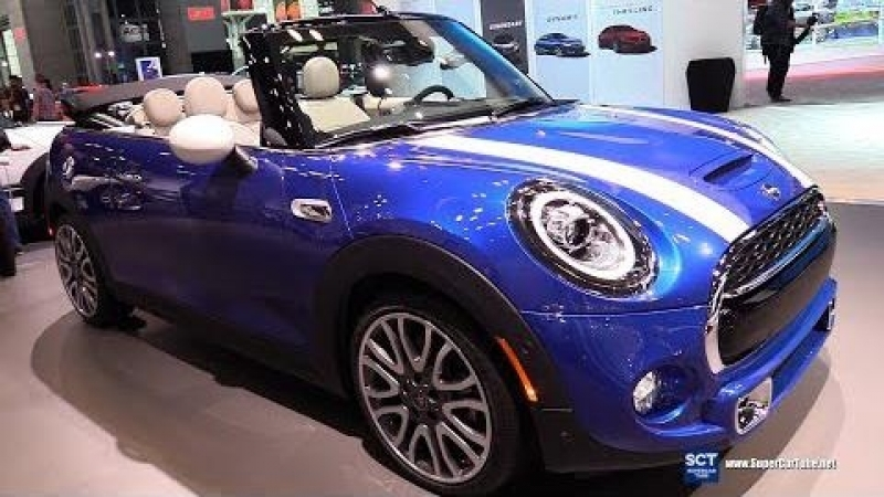 2019 MINI Cooper S Convertible - Exterior and Interior Walkaround - 2018 New York Auto Show