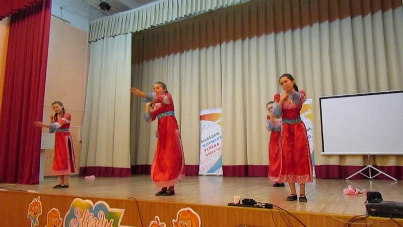 7 г СОШ 32 танец Ноченька праздник Иван Купала
