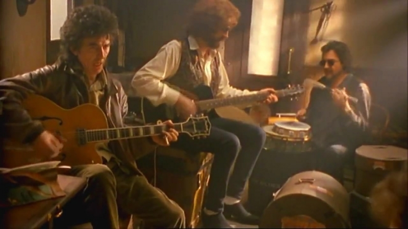 Traveling Wilburys 1988 - End Of The Line ( Remaster)