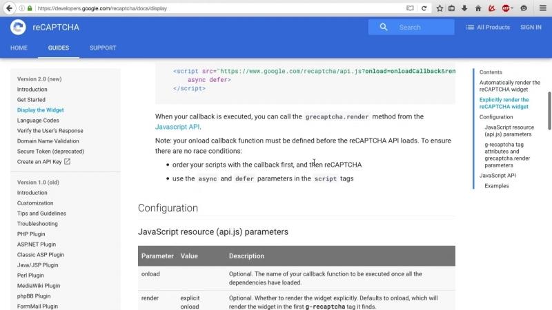 Spring на практике - Google reCaptcha на AngularJS и Spring @ » Freewka.com - Смотреть онлайн в хорощем качестве