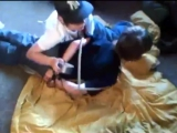 Boy gets tied up and gagged