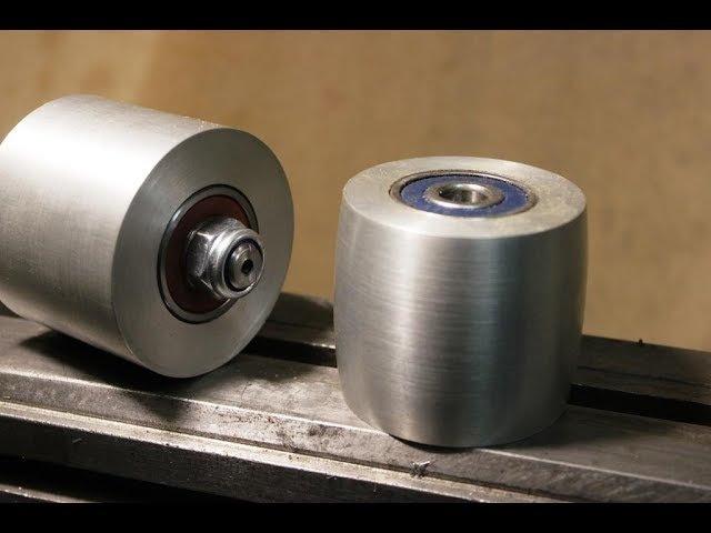 Изготовление роликов для гриндера ролик бочка и прямой ролик.