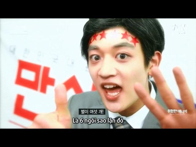 [VietSub] 150530 tvN SNL Korea 6 SHINee - The Dangerous Manager - Part 2/2
