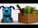 Деревяшки - День Рождения - Серия 11 - развивающий мультик для малышей