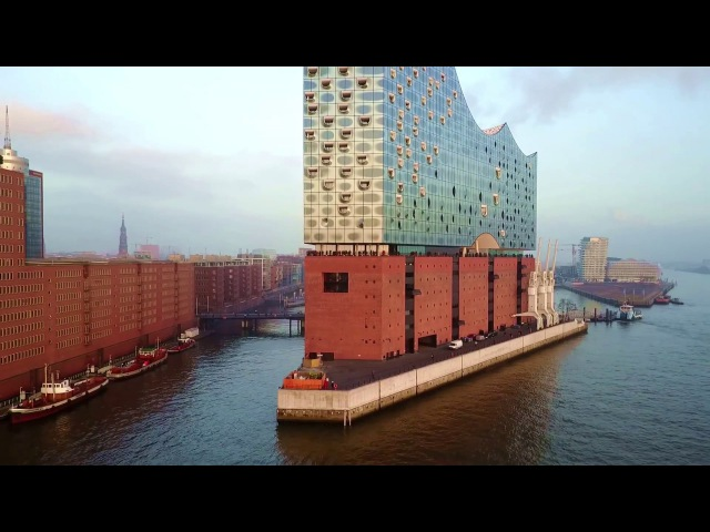 Elbphilharmonie Hamburg - Drone Video DJI Mavic Pro