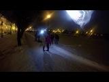 бэкстейдж со съёмок уличной сцены для фан-клипа на песню Петербургский романс (Бригадный Подряд)