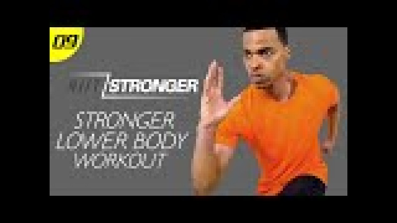 30 Min. STRONGER Lower Body Domination (400th Video)   HIITSTRONGER Day 09