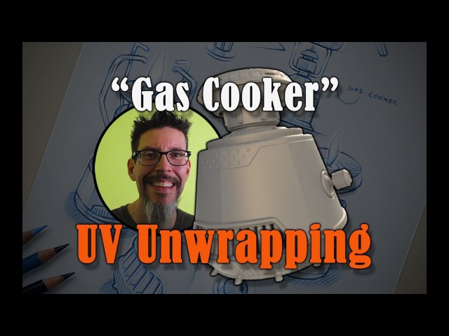 Build A Prop Gas Cooker UV Unwrapping