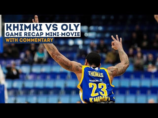 Khimki vs. Olympiacos Mini-Movie 18-01-2018 [khimkibasketTV]