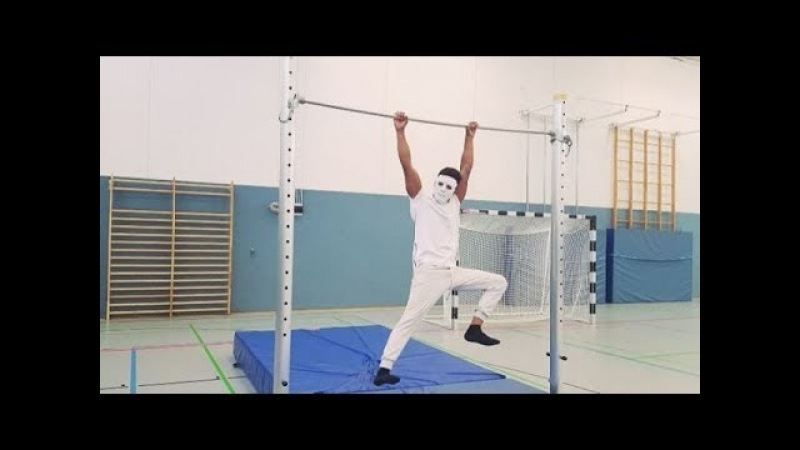 Самый ЗАГАДОЧНЫЙ Турникмен 80 УРОВНЯ Korash Kabir Street Workout мотивация