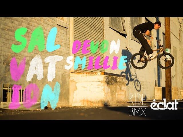Devon Smillie Éclat SALVATION Ride BMX