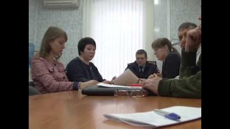 Общественный совет при ОМВД России по ЛГО определил приоритетные направления работы на 2018 год