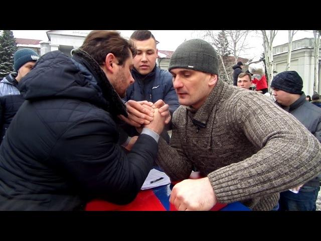 Масленица в Покровске 14.02.2018, Валерий Белицкий - Артем Чухрий
