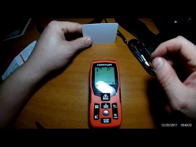Цифровой лазерный дальномер Lomvum из КИТАЯ