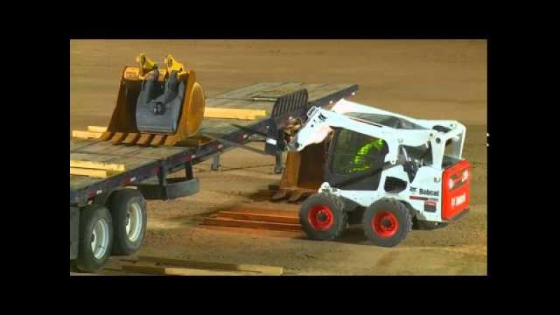 John Deere 326E skid steer vs Competition 4500 LB lift