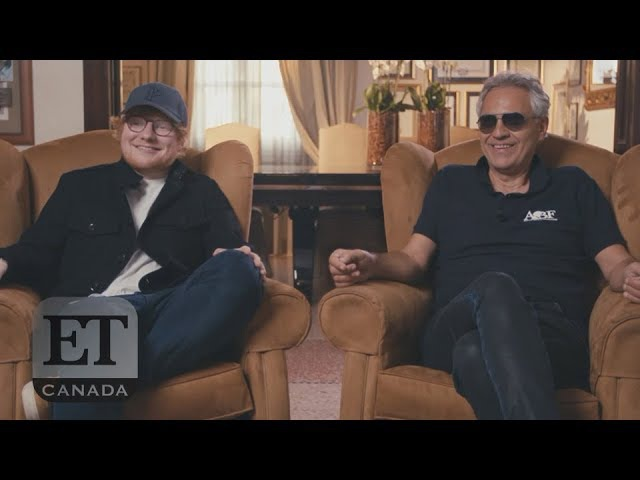 Ed Sheeran And Andrea Bocelli Team Up For 'Perfect'