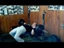 Комаров Дмитрий - тренинг - жим 130