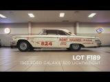 1963 Ford Galaxie 500 Lightweight Lot F189 Mecum Kissimmee 2018