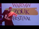 WZF2018 Zuzanna Piotr - Head movement techniques combinations Demo ~ video by Zouk Soul