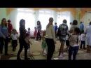 Танец с родителями Хоровод друзей. Средняя группа.