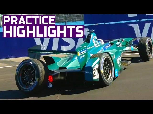 Practice Highlights: 2018 CBMM Niobium Punta del Este E-Prix