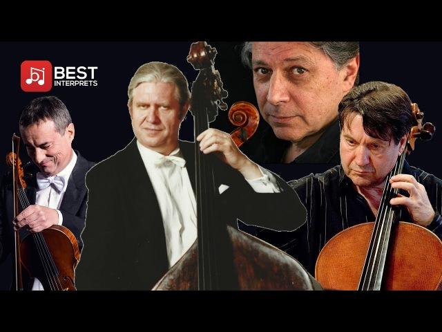 Wolfgang Güttler plays Hoffmeister - Double Bass Quartet No.2 - D. Pagin/J. Lüthy/M.Ostertag