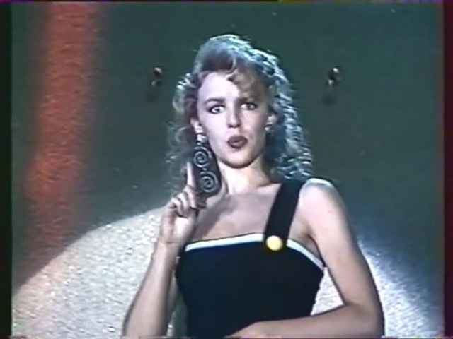 Kylie Minogue Got To Be Certain Live FR3 France 1988
