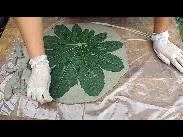 Folhas de cimento mega fácil de fazer