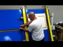 Stretching Canvas Giclee on Stretch Master Machine by Gapp Engineering