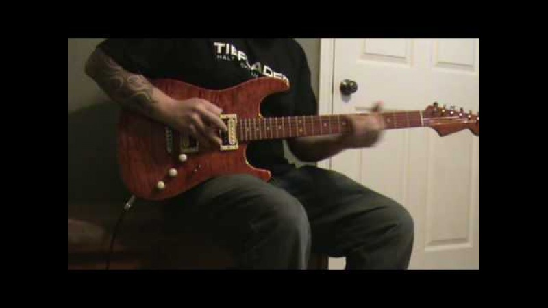 Warmoth Strat Test - Red