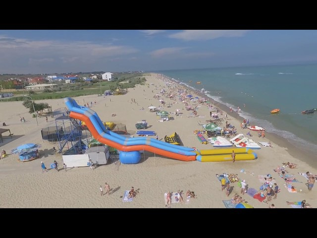 Пляж в Каролино Бугаз. 13.07.17 (с 15.00 до 16.00 дня) напротив бо Бриз
