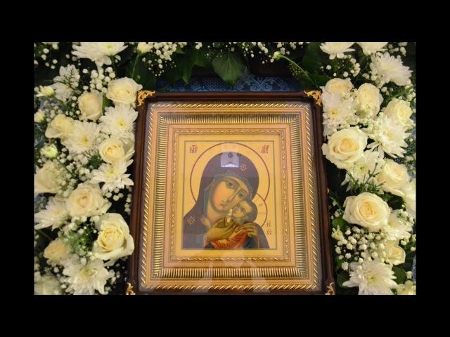 Престольный праздник отметил скит в честь Корсунской иконы Божией Матери.22 октября 2017 года.