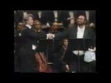 Luciano Pavarotti &amp Dmitriy Hvorostovsky - Invano Alvaro