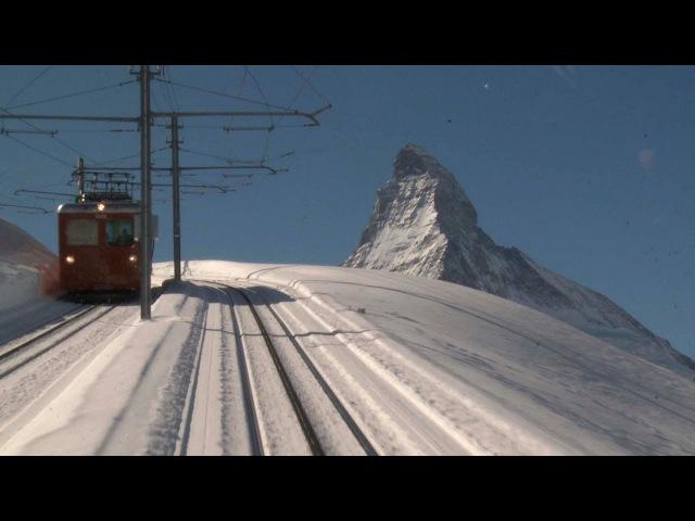 LIVE Trains Railway 24/24 Train Driver's View: Cab Ride Line Railroad in Winter!