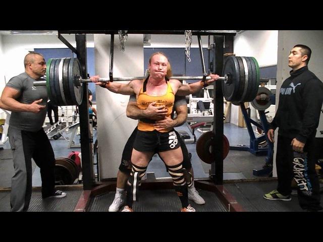 Anna Khudayarov's last squat training before the WRPF Pro Worlds 2015