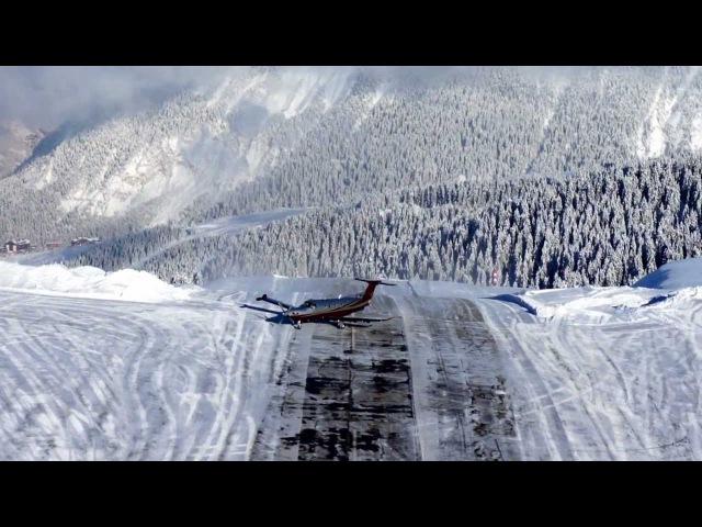 Pilatus PC-12 is the best Aircraft, Courchevel, France
