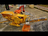 RC STONEBREAKER IN ACTION RC JAW CRUSHERS SUPERSHARK KBM 11065 FANTASTIC MODEL MACHINE